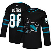adidas Men's San Jose Sharks Brent Burns #88 Authentic Pro Alternate Jersey