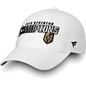 NHL Men's 2018 NHL Division Champions Vegas Golden Knights White Adjustable Hat