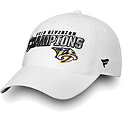 NHL Men's 2018 NHL Division Champions Nashville Predators White Adjustable Hat
