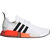 adidas Originals Men's NMD_R1 Shoes in White/Red