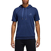 adidas Men's Pickup Shooter Short Sleeve Hoodie