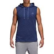 adidas Men's Pickup Shooter Sleeveless Hoodie