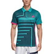 adidas Men's Abstract Tennis Polo