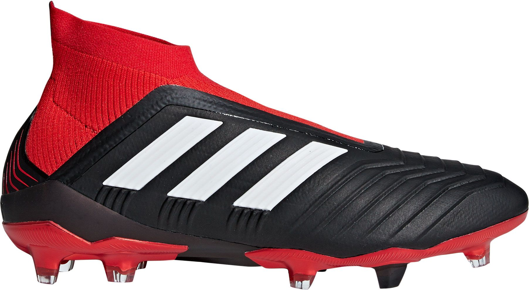 adidas Men's Predator 18+ FG Soccer Cleats, Size: 13.0, Black