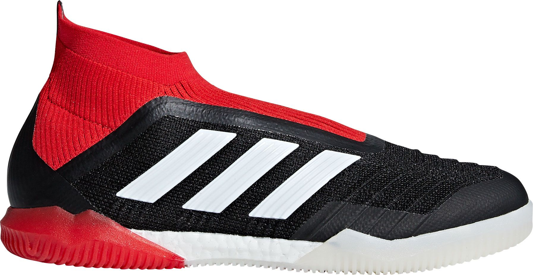 adidas Men's Predator 18+ Indoor Soccer Shoes, Size: 11.0, Black
