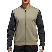 adidas Men's Post Game Fleece Bomber Jacket