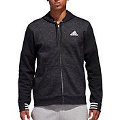 adidas Men's Post Game Fleece Full Zip Hoodie