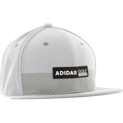 adidas Men's Patch Flat Bill Golf Hat