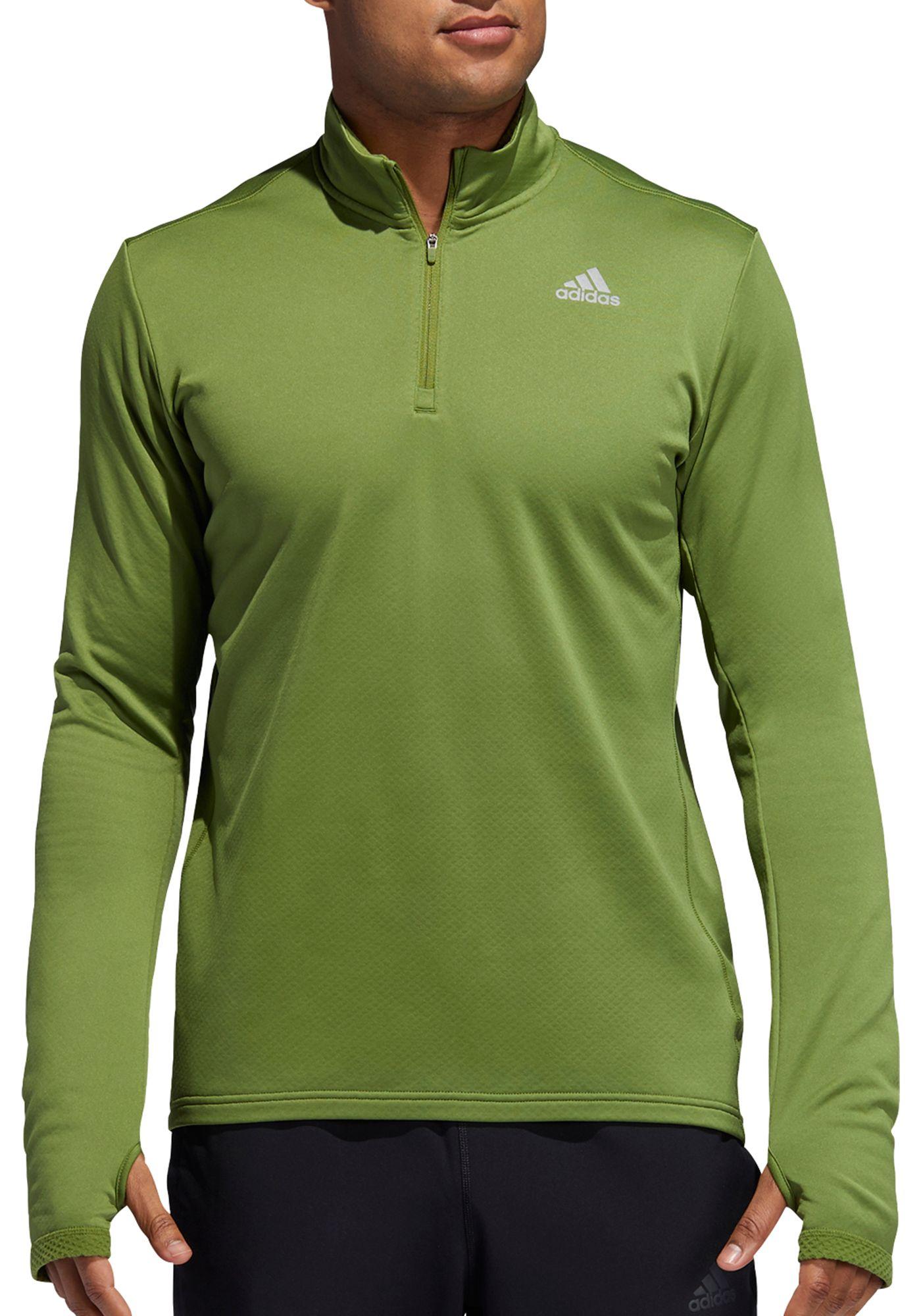 adidas Men's Response 1/4 Zip Sweatshirt
