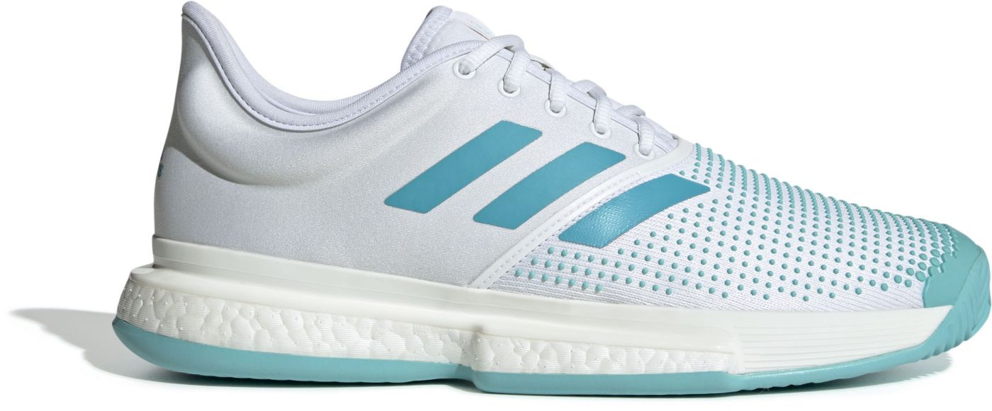 adidas Men's SoleCourt Boost X Parley Tennis Shoes