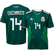 "adidas Men's Mexico Javier ""Chicharito"" Hernandez #14 Stadium Home Replica Jersey"