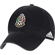 adidas Men's 2018 FIFA World Cup Mexico Crest Black Adjustable Hat