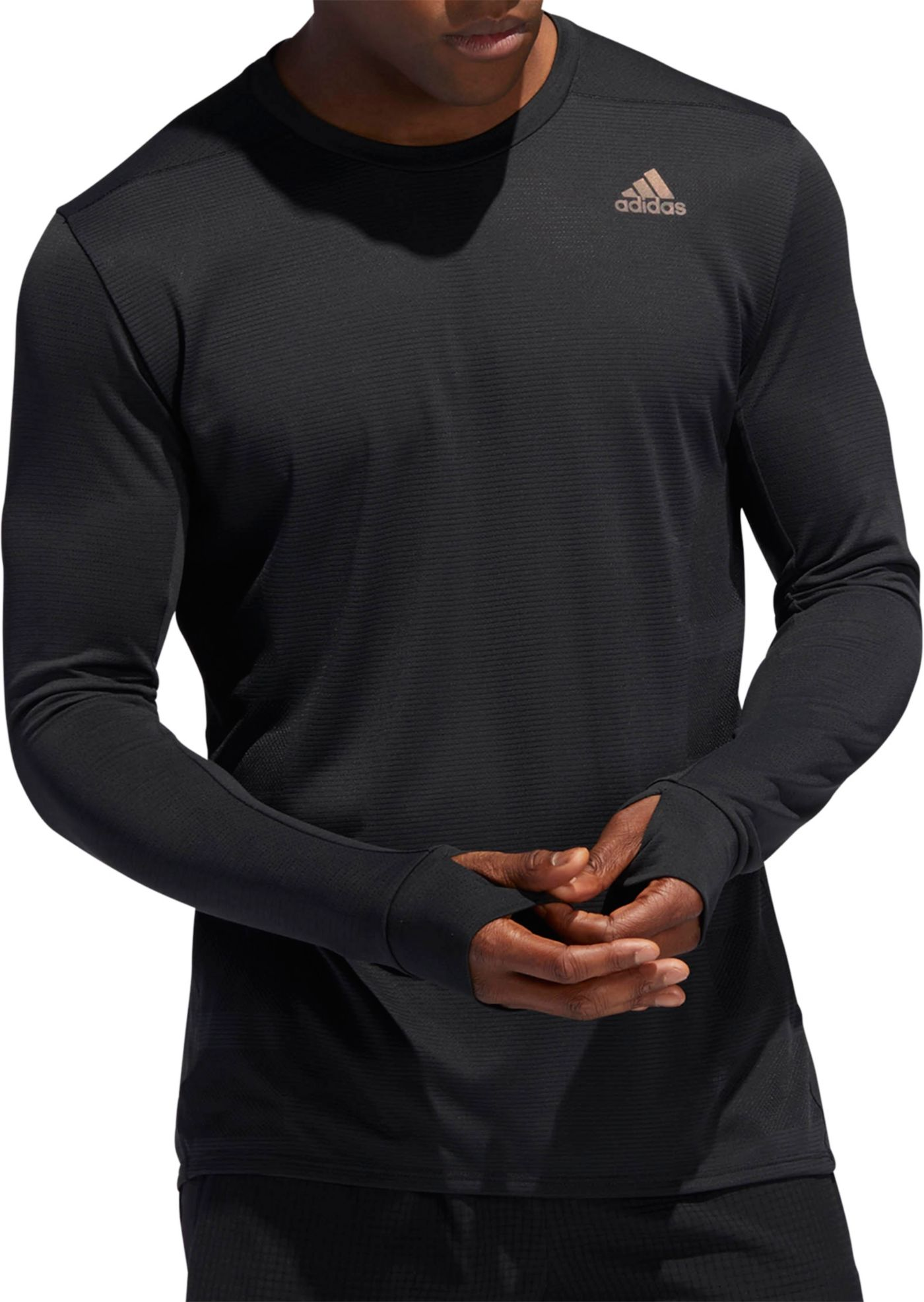 adidas Men's Supernova Running Long Sleeve Shirt