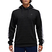 adidas Men's Cotton Fleece 3-Stripes Badge Of Sport Hoodie