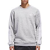 adidas Men's Essentials Jacquard Crew Long Sleeve Shirt