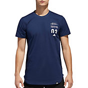 adidas Men's Essentials Printed Scoop Graphic Tee