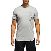 adidas Men's Stack Scoop Neck Tee