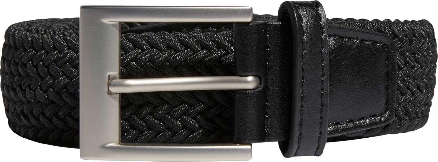adidas Men's Braided Stretch Golf Belt