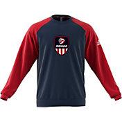 adidas Men's USA Volleyball Henley Sweatshirt