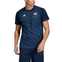 Adidas Men's USA Volleyball Replica T Shirt