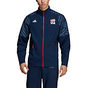 Adidas Men's USA Volleyball Warm-Up Jacket