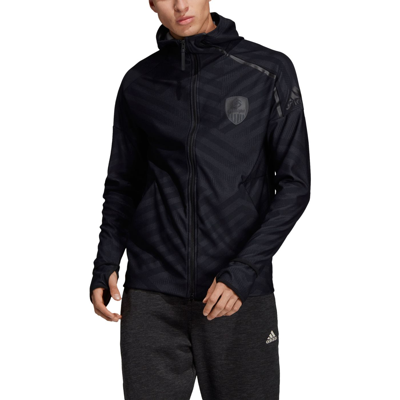 Adidas Men's USA Volleyball ZNE Hoodie