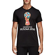 adidas Men's 2018 FIFA World Cup Event Logo Black T-Shirt