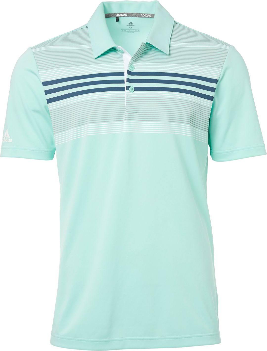low priced a4962 ee68f adidas Men's Drive Bold Sport Golf Polo