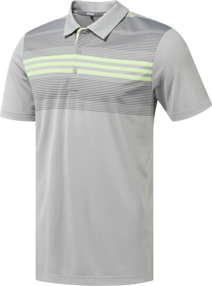 delicate colors clearance sale various colors adidas Men's Drive Bold Sport Golf Polo