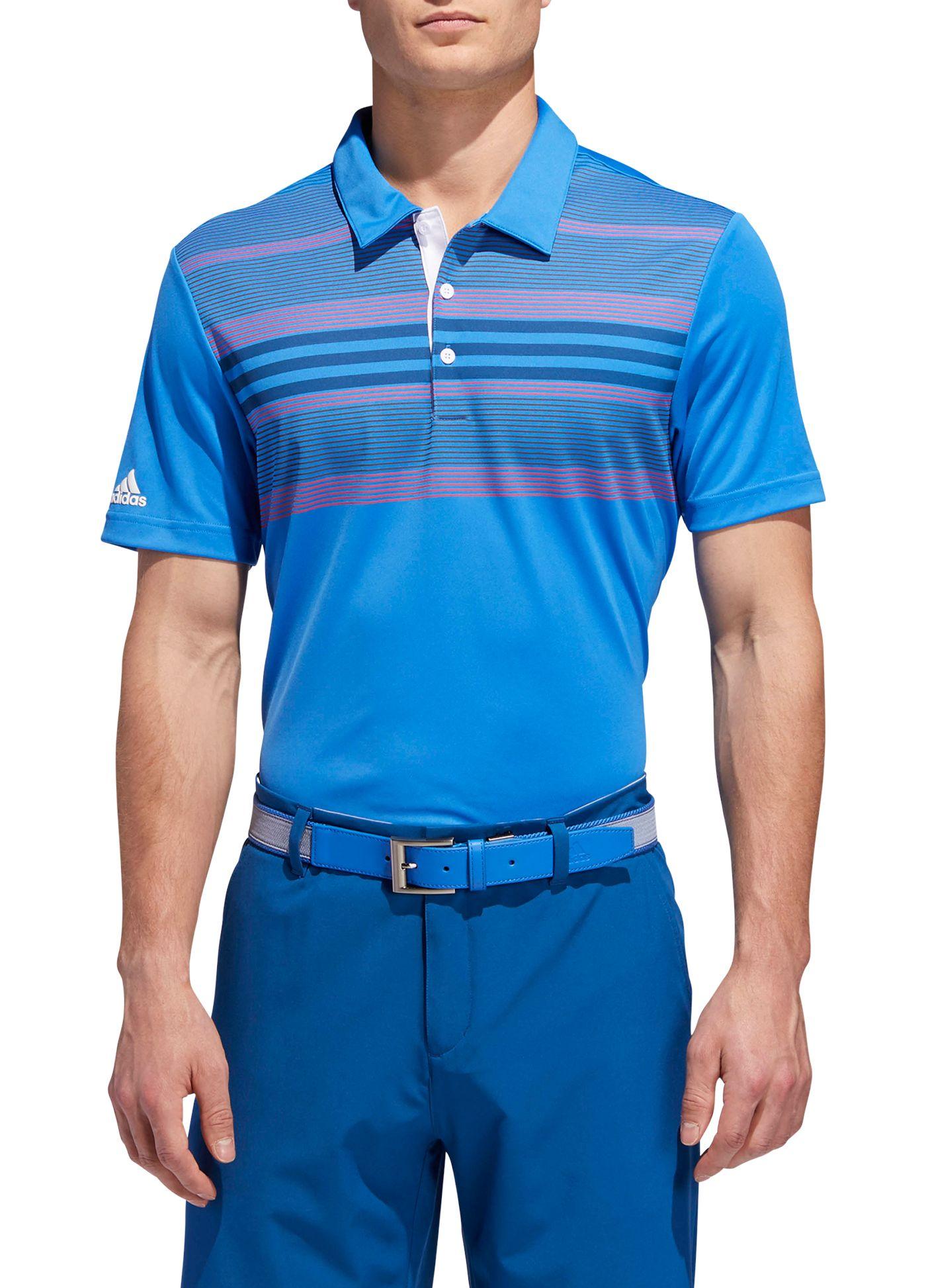 adidas Men's Drive Bold Sport Golf Polo