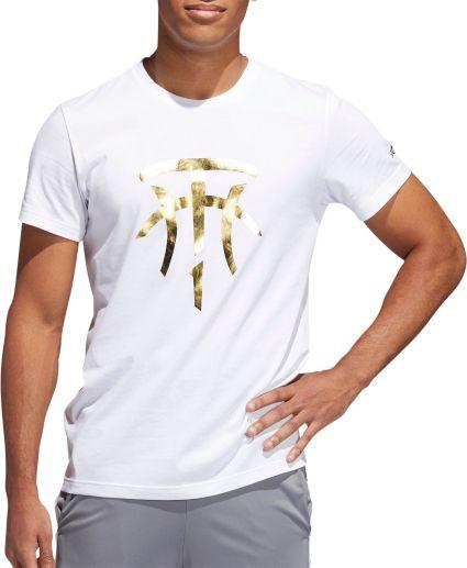 3af1b2d711e4 adidas Men s T-Mac Logo Basketball T-shirt. noImageFound