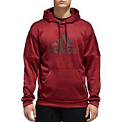 0855560d360 Product Image · adidas Men s Team Issue Badge Of Sport Hoodie. Noble Maroon  Black ...