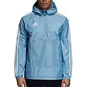 adidas Men's Tango Half Zip Windbreaker Jacket