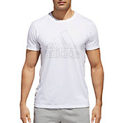 adidas Men's Tiny Type Logo T-Shirt