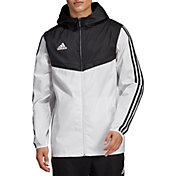 6b9a3f7276c2 Product Image · adidas Men s Tiro Windbreaker Jacket. White Black