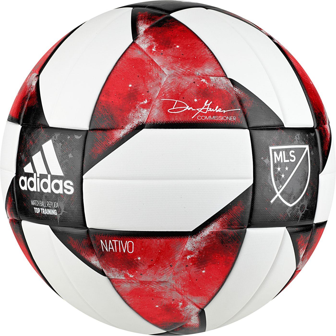 adidas MLS 2019 NFHS Top Training Soccer Ball