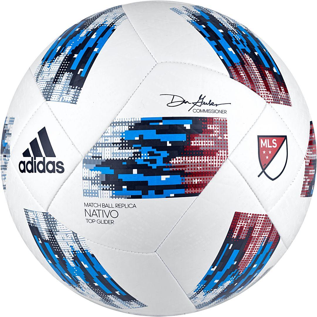 hot sale online 1a9f0 4496f adidas 2018 MLS Top Glider Soccer Ball