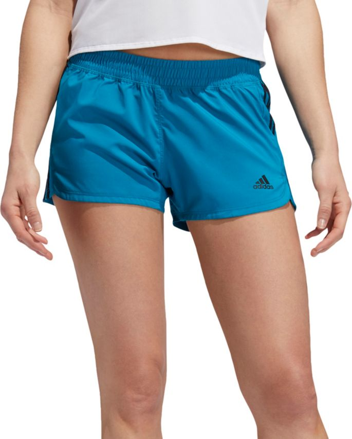 adidas Women's Pacer 3 Stripes Woven Shorts
