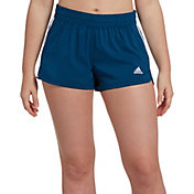 adidas Women's Pacer 3-Stripes Woven Shorts