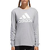 adidas Women's Badge of Sport Long Sleeve Shirt