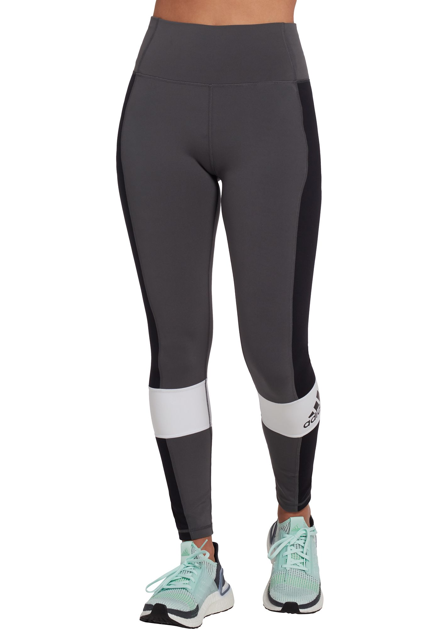 adidas Women's Believe This High Rise Sport Block 7/8 Tights