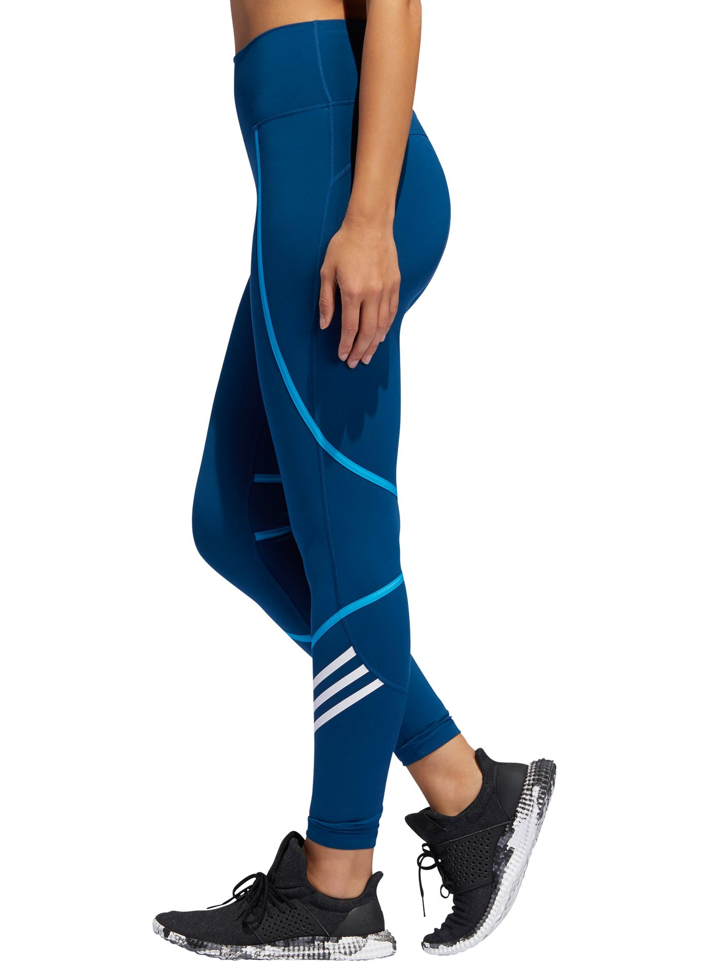 adidas Women's Believe This Elastic Wrap 7/8 Tights