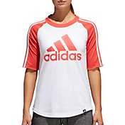 adidas Women's Badge Of Sport Baseball T-Shirt