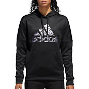 adidas Women's Badge Of Sport Camo Team Issue Hoodie