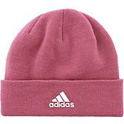 214c903d1aff5 Product Image · adidas Women s Team Issue Fold Beanie · Trace Maroon · Black   ...