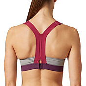 adidas Women's Stronger For It Racerback Heather Sports Bra