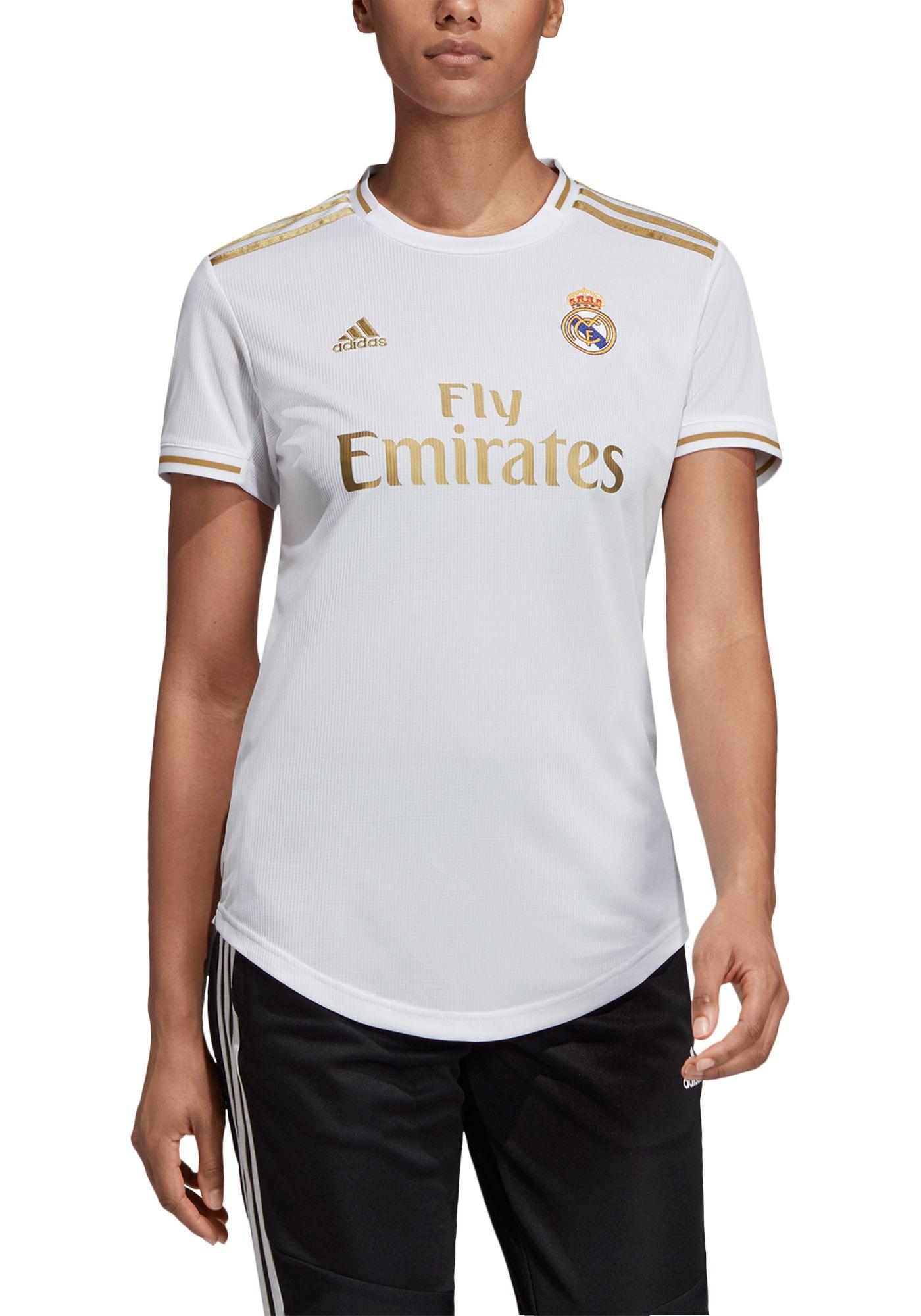 adidas Women's Real Madrid '19 Stadium Home Replica Jersey