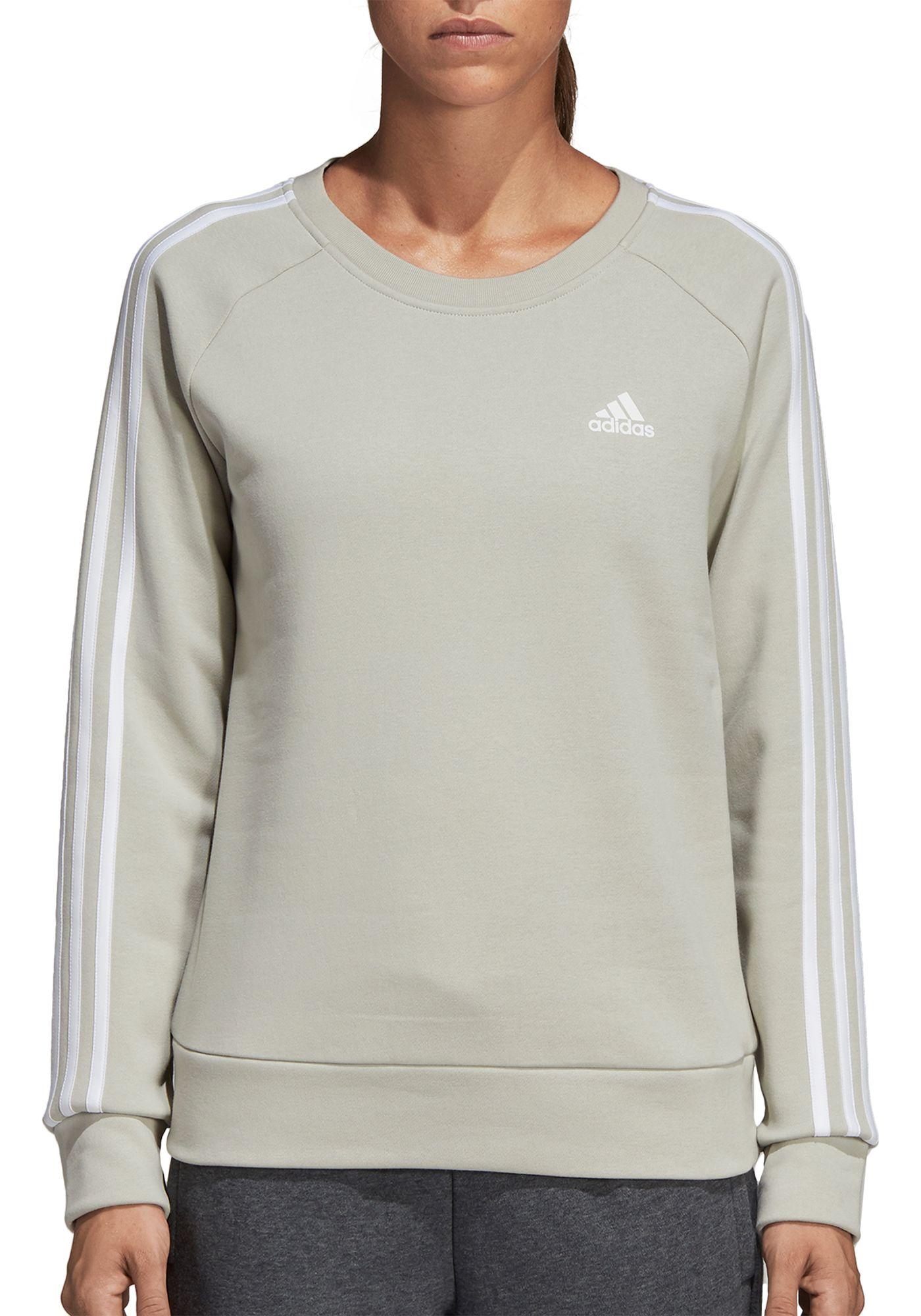 adidas Women's Essentials 3-Stripes Crewneck Sweatshirt