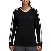 adidas Women's Essentials 3-Stripes Crewneck Sweatshirt