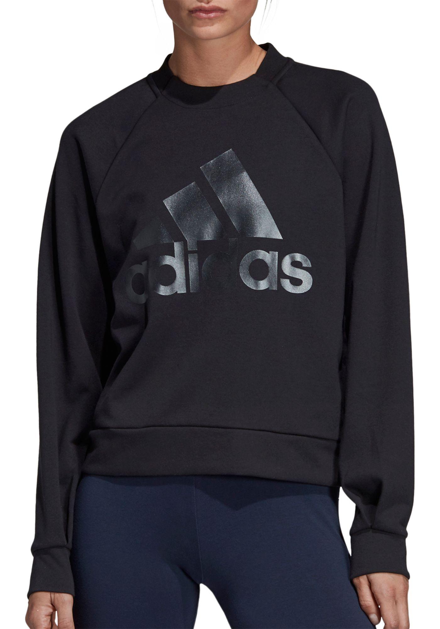 adidas Women's ID Glory Crewneck Sweatshirt
